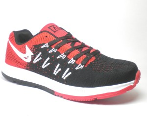 f9235b4509102 Air Sports Zoom Running Shoes Red Black Best Price in India