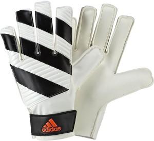 Adidas Classic Lite Goalkeeping Gloves (M, White, Black, Solar Red)
