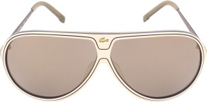 c1d4137663d Lacoste 632 264 S Aviator Sunglasses Brown Best Price in India ...