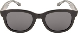 e952c5dbbd0 Lacoste 670 001 49 S Wayfarer Sunglasses Grey Best Price in India ...