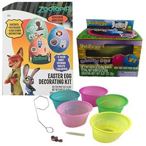 Paper Magic Disney Zootopia Easter Egg Decorating Kit With Coloring ...