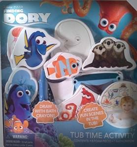 disney finding dory tub time activity set bath toy multicolor best