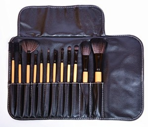Am Clothes Cosmetic Makeup Brushes Set Eyeshadow Lip Brush For Women Black bf86dad57