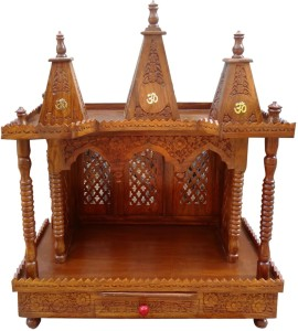 273dc948be4 Aarsun Woods Aarsun Sheesham Folding Wooden Temple   Mandir   Pooja Ghar    Design Wooden Home