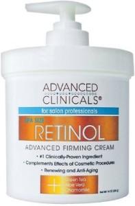 Advanced Clinicals Retinol Cream For Women454 g