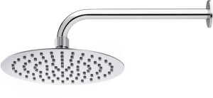 Prestige Ultra Slim Round 12X12 with 18inch arm Shower Head