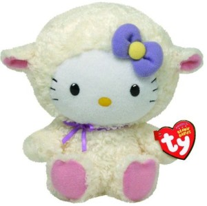 da20b726113 Ty Beanie Babies Hello Kitty Lamb Suit 2 2 inch Multicolor Best ...