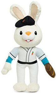 Baby First Corporation Bunny Of The Year - Baby First Tv - Baseball Harry The Bunny Soft Plush Toy  - 5.1 inch