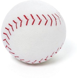 Gund Sportsfanz Stuffed Baseball Sound Toy  - 2.3 inch