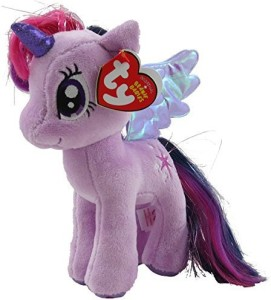 4386ac04a70 TY Beanie Babies Twilight Sparkle With Glitter Hair 3 inch ...