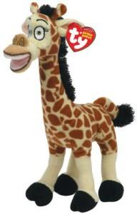 TY Beanie Baby Madagascar - Melman-Giraffe  - 8 inch