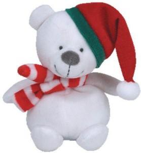 Ty Jingle Beanies Freezings - Bear  - 2 inch