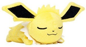 4df38472e81 Pokémon Center Original Kuttari Stuffed Jolteon Ver Good Night. - 2.4 inch