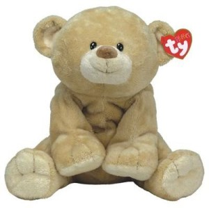 Ty Pluffies - Woods The Bear  - 3.54 inch