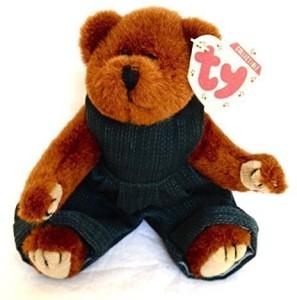 Ty Attic Treasure - Henry The Bear  - 8 inch
