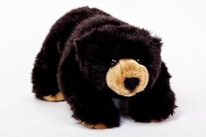 Cabin Critters Bear Stuffed Plush Animal - North American Wildlife Collection  - 6 inch