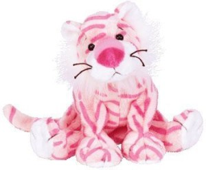 Ty Beanie Baby - Mystique The Tiger (Circus Beanie)  - 1.9 inch