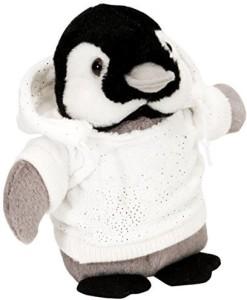 Wild Republic Holiday Hoody Ck Penguin Plush  - 8 inch