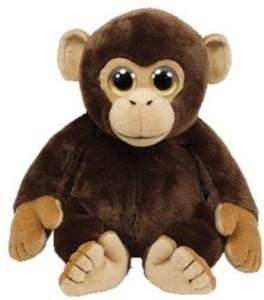 TY Wild Wild Best ie Plush - Mini Monkey  - 8 inch