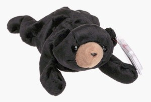 Ty Beanie Babies - ie The Bear [Toy]  - 1.81 inch