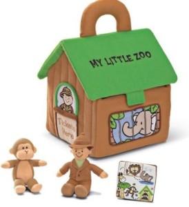 Gund My Little Zoo Plush Playset  - 8 inch