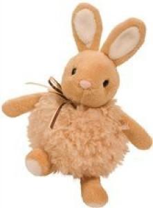 Douglas Co. Inc. Oatmeal Puff Bunny  - 8 inch