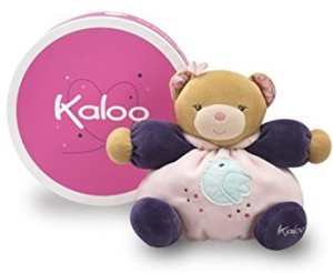 Kaloo Petite Rose Small Bear With Chick  - 3.62 inch
