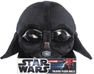 Underground Toys Star Wars Talking Darth Vader Plush Ball  - 7.64 inch