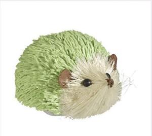 Grasslands Road Bunny Mini Hedgehog~ Pastel Mint  - 4.1 inch