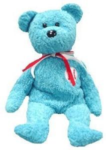 Ty Beanie Babies - Addison The Baseball Bear  - 1.7 inch