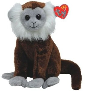 TY Beanie Baby 2.0 Jungle - Tree Monkey  - 8 inch