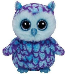438c46c6cce Ty Beanie Boos Oscar The Owl - Medium - 4.6 inch ( Multicolor )