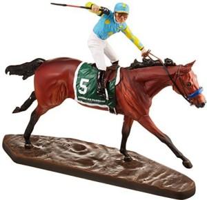 Breyer American Pharoah Artist'S Resin Figurine  - 14 inch