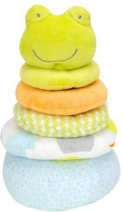 Carter's Stackable Plush Baby Plush Toy - Frog  - 9 inch