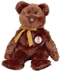 Ty Beanie Baby - Champion The Fifa Bear ( Brazil )  - 2.2 inch