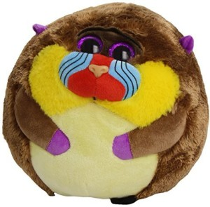 TY Beanie Ballz Charlie Baboon Plush, Medium  - 8 inch