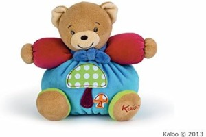 Kaloo Colors Small Bear With Mushroom Applique  - 3.94 inch