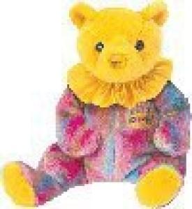 Ty Beanie Babies Happy Birthday Bear November Retired No Hat [Toy]  - 2.3 inch