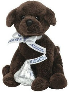 9923798bf3a Ty Beanie Babies Chocolate Kiss - Hershey Dog (Wal S Exclusive) - 2.6 inch