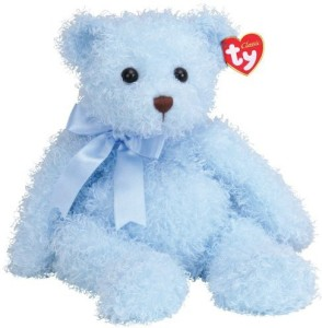 Ty Oasis - Curly Bear  - 2.8 inch