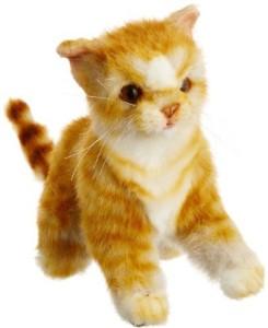 Hansa Ginger Kitten Plush  - 7.02 inch