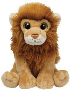 TY Wild Wild Best Kingston Plush - Mini Lion  - 8 inch