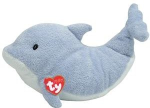 Ty Pluffies - Flips The Dolphin [Toy]  - 8 inch