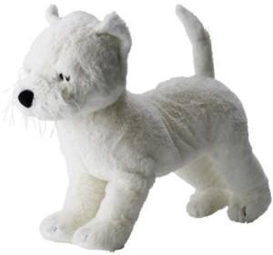 IKEA Ruffig Soft Toy, Dog,  - 5.5 inch