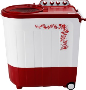 Whirlpool 7.5 kg Semi Automatic Top Load Washing Machine Red