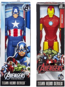 Emob 11 Inch Big Size Ultimate Super Power Classic Titan Action Heroes  Combo-3Multicolor