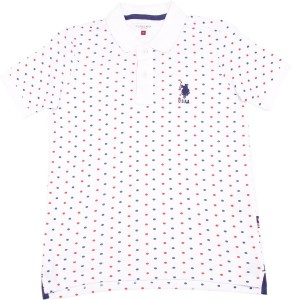 94907ed6 US Polo Kids Boys Solid Cotton T Shirt White Pack of 1 Best Price in ...