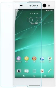 S-Model Tempered Glass Guard for Sony Xperia C