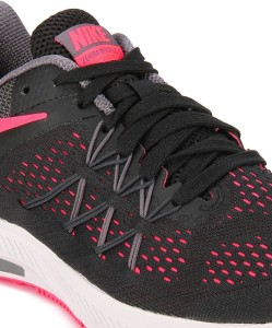 6d0b298f27a5 Nike WMNS NIKE ZOOM WINFLO 3 Running Shoes Black Best Price in India ...