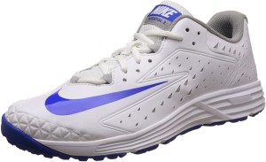 4e51fe32a44d3f Nike POTENTIAL 3 Cricket Shoes White Best Price in India | Nike ...